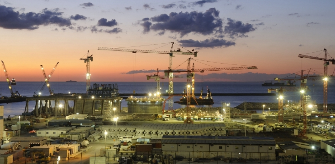 The Tanger-Med port located about 40 km east of Tangier, Morocco. Photo: Bouygues Construction