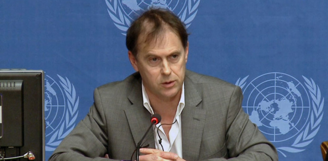 Rupert Colville, spokesperson for the UN High Commissioner for Human Rights (OHCHR). Photo: UN Photo