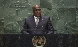Félix Antoine Tshilombo Tshisekedi, President of the Democratic Republic of the Congo, addresses the general debate of the General Assembly's seventy-fourth session.