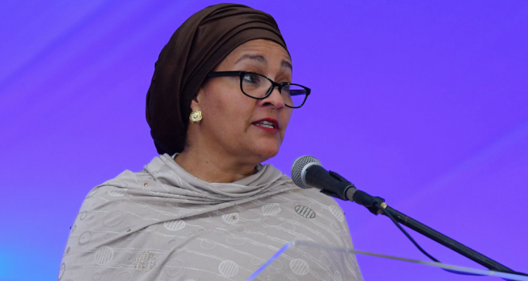 UN Deputy Secretary-General Amina Mohammed (file photo).