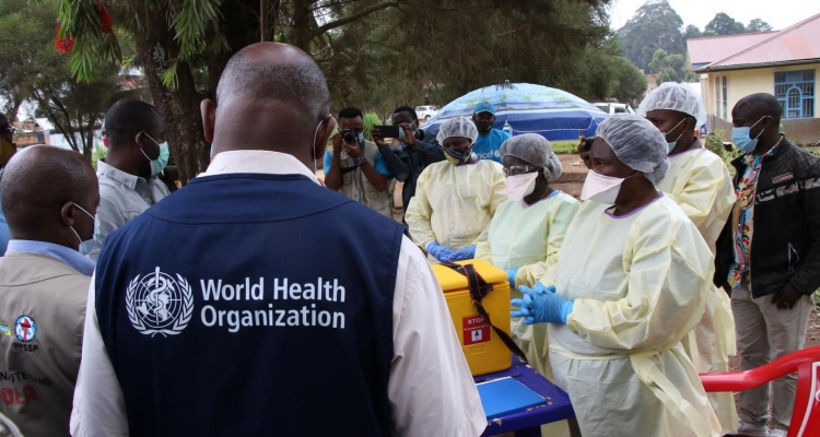 WHO steps up efforts to curb Ebola outbreaks in West Africa and the Democratic Republic of the Congo