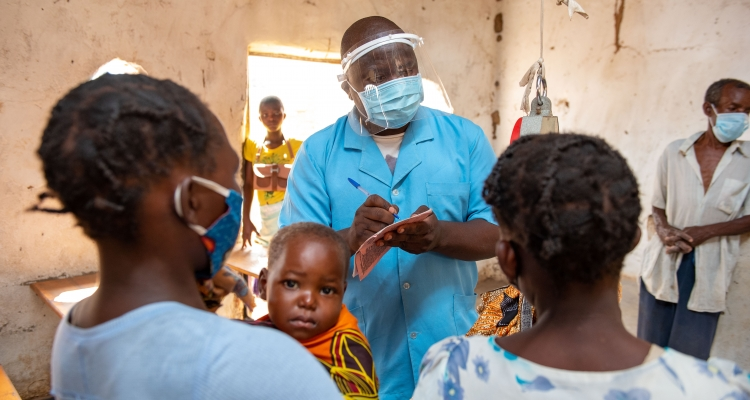 Community Health Workers providing life-saving services.