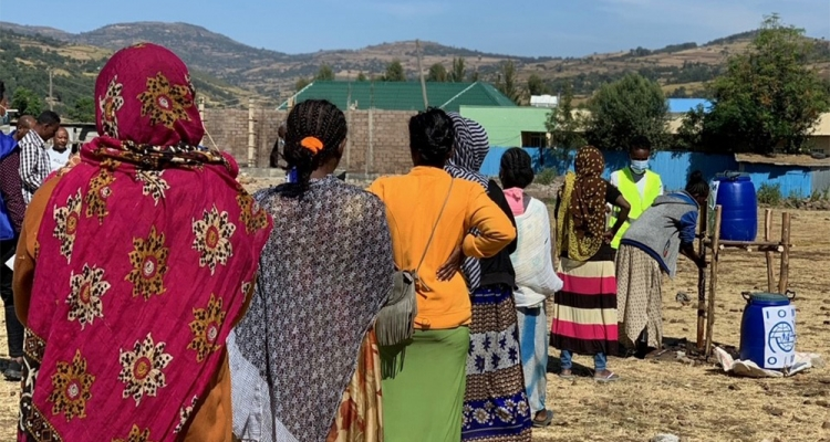 IOM has commenced operations to assist crisis-affected populations in Northern Ethiopia.