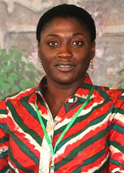 Bernice Dapaah, founder and CEO, Ghana Bamboo Bikes Initiative.