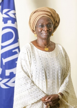 Ms. Samuel-Olonjuwon is the Assistant Director-General and Regional Director for Africa, International Labour Organization