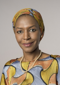 Ms. Fatima Kyari Mohammed is the Permanent Observer and Head of Mission of the African Union to the United Nations
