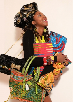 African bags and clothes