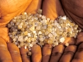 Rough diamonds found around Mbuji-Mayi, Democratic Republic of Congo. Photo: Panos/Marc Schlossman