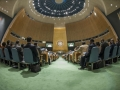 World leaders listen to an address by Pope Francis on 25 September before adopting the SDGs at the United Nations headquarters, New York. Photo: UN/Cia Pak