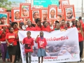A rally in Lagos, Nigeria to mark 500 days of the abduction of Chibok girls. Photo: AMO/Ademola Akinlabi