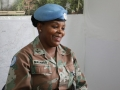 -Lieutenant Colonel Martha Masango, serving in the DR Congo
