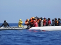 Rescue operations of African migrants...