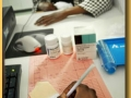Getting an anti-retroviral prescription in Botswana.  Photo : ©World Health Organization / Eric Miller