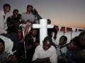 The Italian Coast Guard rescues migrants bound for Italy. Photo: IOM / Francesco Malavolta
