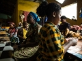 Vendors struggle with plummeting sales and rising cost of transporting goods to the market in West Point in Monrovia, Liberia, after the Ebola outbreak and quarantine took effect in the country.Photo: UNDP/ Morgana Wingard