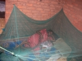 Seliya Lawrence and her 10-month-old baby, who has since received three doses of the malaria ...