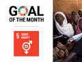 Goal of the Month | March 2021: Gender Equality