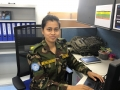 Major Monira Mahjabeen Mowri, from Bangladesh, serving in South Sudan
