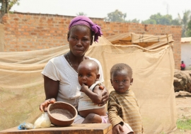 Two and a half million people in the Central African Republic (CAR) are fgacing hunger. Photo: WFP West Africa