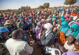On 24 January 2016, officials from the UN-African Union Mission in Darfur (UNAMID) visited Anka and Umm Rai, North Darfur, and interacted with the displaced population who spoke about their concerns regarding the lack of food, shelter, water resources and
