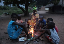 hildren in the Quinara region of Guinea-Bissau. UNICEF/Roger LeMoyne