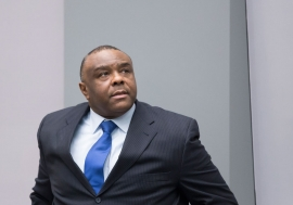 Former Congolese vice-president Jean-Pierre Bemba Gombo in the ICC courtroom during the delivery of his sentence on 21 June 2016. Photo: ICC-CPI