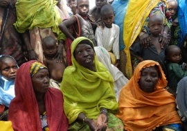 As of June 2016, 4.6 million people are severely food insecure in the Lake Chad basin, of which 65 per cent are located in Northeast Nigeria, especially in the Borno and Yobe States. Photo: FAO/Patrick David