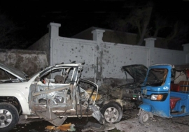 Violent extremists have carried out bombings in the Somali capital of Mogadishu on various occasions. Shown here is the aftermath of a car bomb attack on the city's Banadir Beach hotel on 25 August 2016. Photo: UN Somalia (file)