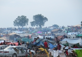 UNMISS provides protection to civilians fleeing recent violence in Wau. Photo: UNMISS