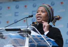 Phumzile Mlambo-Ngcuka, Executive Director of UN Women. Photo: UN Photo/Devra Berkowitz