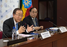 As negotiations on the draft text of FFD3 entered its final stages, Secretary-General Ban Ki-moon said that a successful outcome is vital for the future sustainable development agenda and could shape international cooperation for years to come. UN Photo/E