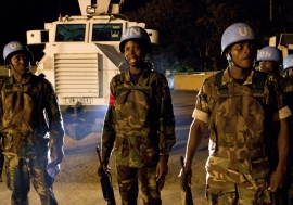 Malawian peacekeepers in Côte D'Ivoire were key to the success of the UN mission there, known as UNOCI. Photo Credits:UN Photo/Patricia Esteve