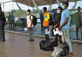 IOM facilitated the voluntary return of 179 Malian migrants stranded in Niger.