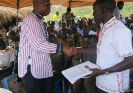 Opposition forces in Eastern Equatoria committing to respecting and protecting human rights
