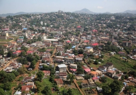 Freetown, la capitale du Sierra Leone. Photo Dominic Chavez/Banque mondiale