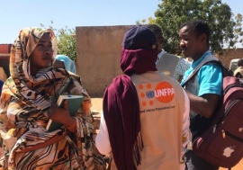 UNFPA has been supporting pregnant women in West Darfur following an increase in instability in the region.