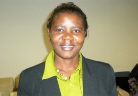 Grace Akallo, former child soldier from Uganda