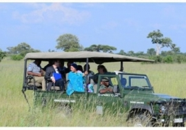 Amina J Mohammad visiting Hwange National Park in Zimbabwe