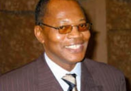 Mohamed Ibn Chambas. Photo: Afrique Relance / Ernest Harsch