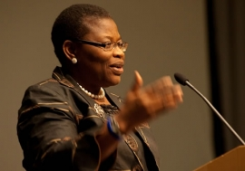 Obiagali Ezekwesili, the World Bank's vice president for Africa