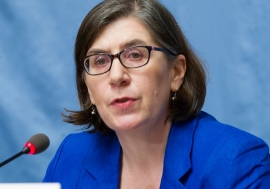 Elizabeth Throssell, Spokesperson for the Office of the United Nations High Commissioner for Human Rights (OHCHR).