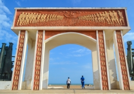 Door of no return in Ouidah, Benin.
