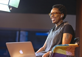 Africa Podfest co-director Melissa Mbugua co-hosts the festival live from Baraza Media Lab in ...