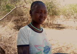 An image of Margaret Chepoteltel of Amudat District.