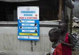 Together with the Ministry of Health, UNICEF is leading the Risk Communication efforts in South ...