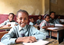 Basic education is compulsory for both girls and boys.