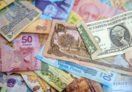 An image of bank notes.