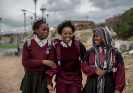 South African school girls