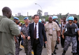 Choi Young-jin, Special Representative of the Secretary-General