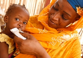 In Africa's Sahel region, over 1 million children under age 5 are at risk of dying of nutrition-related illnesses